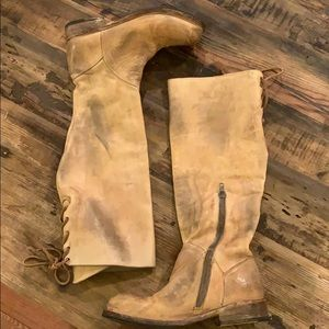 "Bed Stu distressed tan ""Manchester"" boots"